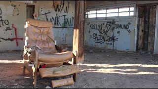 Homemade Prison and Electric Chair ! ABANDONED