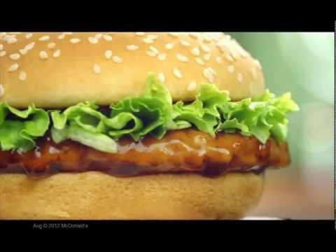 麥當勞 將軍漢堡、玉子將軍漢堡、和風紫菜Shake Shake薯條 廣告 2012 - YouTube