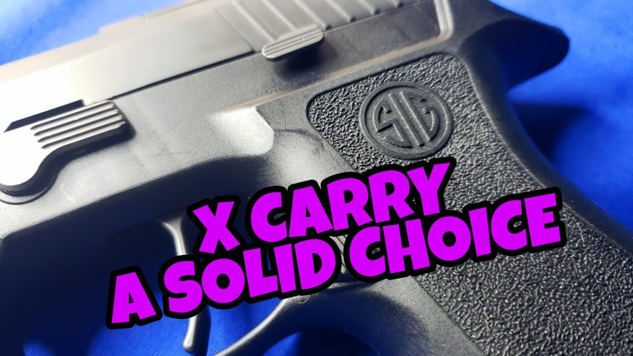 Sig Sauer P320 X-Carry: Final Impressions