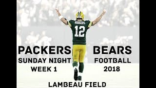 Packers Radio Calls Rodgers' Legendary Sunday Night Comeback Vs. Bears | Radio Highlights | Week 1