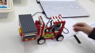 Робототехника. Вилочный погрузчик