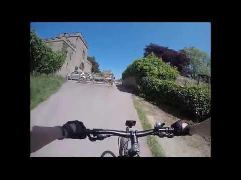Bike ride Nidderdale Greenway: Ripley Castle to Bilton (Harrogate, North Yorkshire)– WOW! (Part 1)