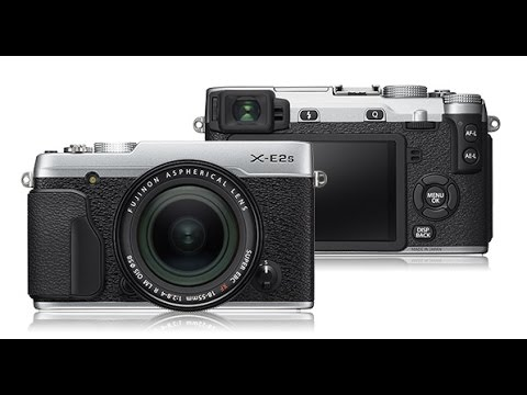 Обзор функционала камеры Fujifilm X-E2S