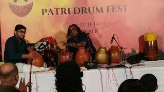 Ghata Tarangam - Tribute to Vikku Sir @ Patri Drum Fest. Ghatam Karthick & Sarvesh Karthick