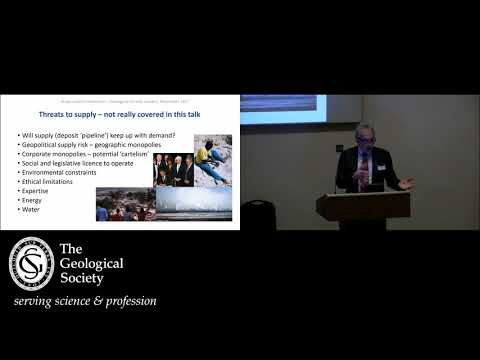 Bryan Lovelll Meeting 2017: Mining for the Future - Theme 2 Where will future resources come from