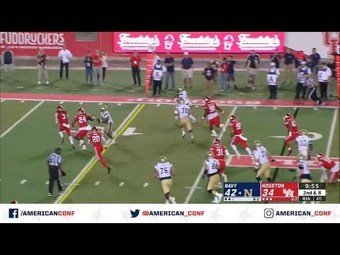 2019 Football Highlights - Navy At Houston