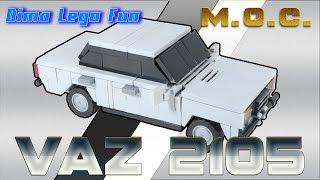 LADA VAZ 2105 How To Build Lego ВАЗ 2105 Как собрать Лего самоделка