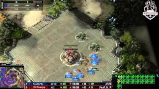 Archon Mode -  ZvT Nerchio/Bly vs Qxc/Beatyqt p1 - 1080p/60fps