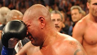 Chris ARREOLA Crying at the end of this FIGHT