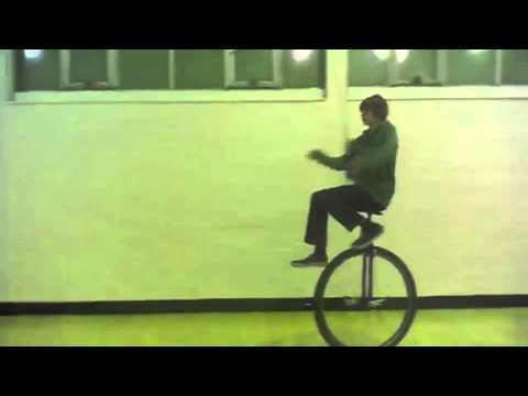 Big Bikes presents Kris Holm 36 unicycle Suicide mount and Wheel Walking