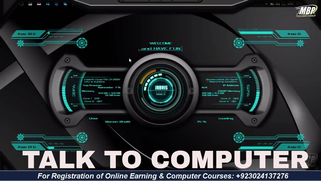 Make your windows pc voice-controlled jarvis 2018 - Iron Man jarvis for  windows 7/8/8 1/10