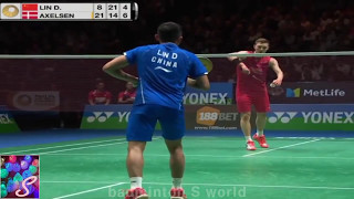 badminton 2017 羽毛球 バドミントン highlights all england ms qf lindan vs viktor axelsen 林丹