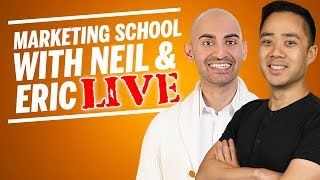 10 Game Changing Strategies to Crush Marketing in 2019 with Neil Patel and Eric Siu