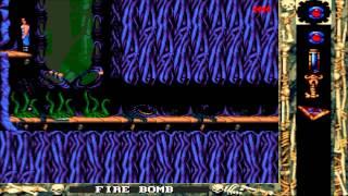 Blackthorne Gameplay - MS-DOS / PC (1994) - Level 8 (CGDM)