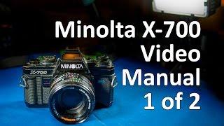 Мінолта х-700 інструкція Відео 1 з 2