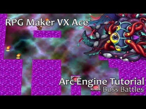 RPG Maker VX Ace - Arc Engine Tutorial - Boss Battle