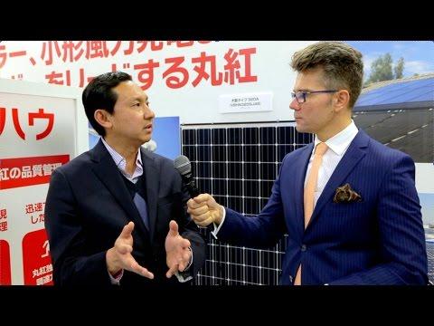 PV EXPO, Tokyo, Japan: Alessandro Fujisaka, Marubeni America Corporation