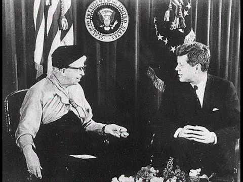 JFK AND ELEANOR ROOSEVELT DISCUSS THE STATUS OF WOMEN (APRIL 18, 1962)