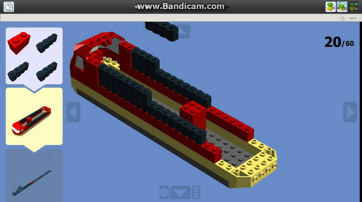 lego digital designer train youtube. Black Bedroom Furniture Sets. Home Design Ideas