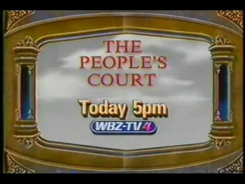 1990 THE PEOPLE'S COURT Theater Commercial