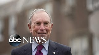 Bloomberg takes the spotlight with Trump battle l ABC News