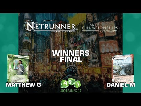 Android: Netrunner - 401 Games Store Champs - Winner's Final - Feb 24 2018