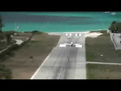 Landing In Guadeloupe