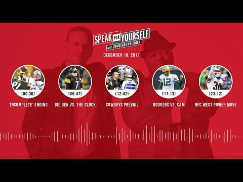SPEAK FOR YOURSELF Audio Podcast (12.18.17) with Colin Cowherd, Jason Whitlock | SPEAK FOR YOURSELF