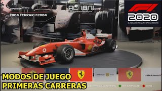 F1 2020 (PC) - Primer contacto, Modos de Juego y carreras rápidas en Red Bull Ring || GAMEPLAY
