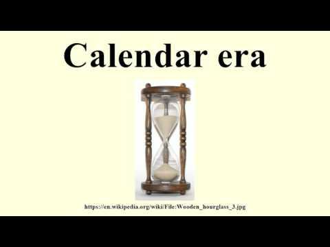 Calendar era