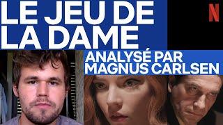 Magnus Carlsen, n°1 mondial d'échecs, analyse la partie finale du Jeu de la Dame | Netflix France