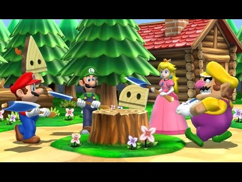 Mario Party 9 Step It Up Free For All Minigames Cartoon Games