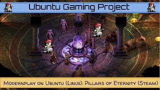 Modernplay on Ubuntu (Linux): Pillars of Eternity (Steam)
