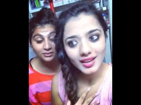 Two girls comedy saharanpur