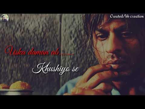 😓Veer zara movie best dialogue whatsapp status 😓|| shahrukh khan best dialogue whatsapp status....