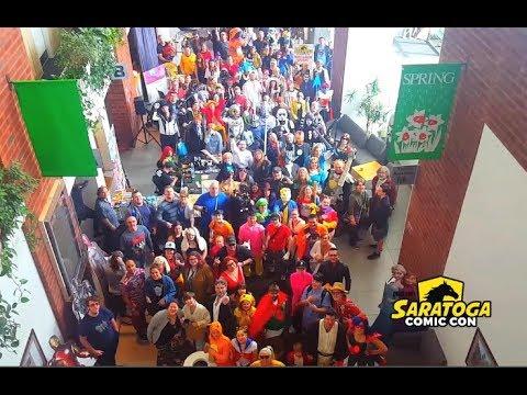 THE SARATOGA COMIC CON EXPERIENCE