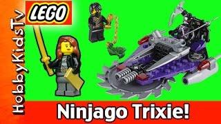 Trixie LEGO Ninjago 70720 Hover Hunter Toy Ninja Skills HobbyKidsTV
