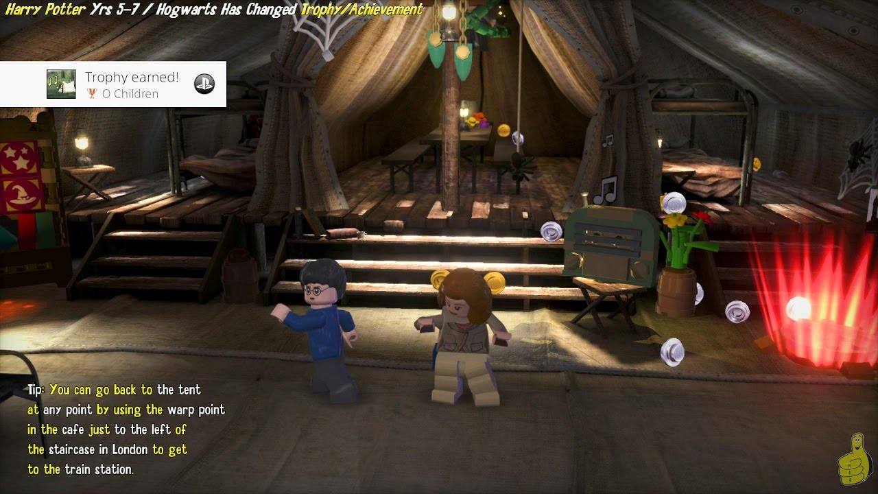 Lego Harry Potter Years 5-7  O Children  Trophy/Achievement - HTG & Lego Harry Potter Years 5-7: