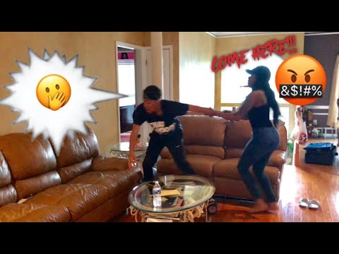 CALLING MY GIRLFRIEND ANOTHER GIRLS NAME PRANK SHE TRIES TO FIGHT ME PT2  Qui & Ken