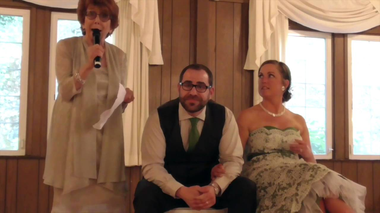 Funniest Toast Of The Groom By His Mother