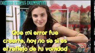 "Macarena Achaga - ""Despedida Dramatica"" LETRA COMPLETA"