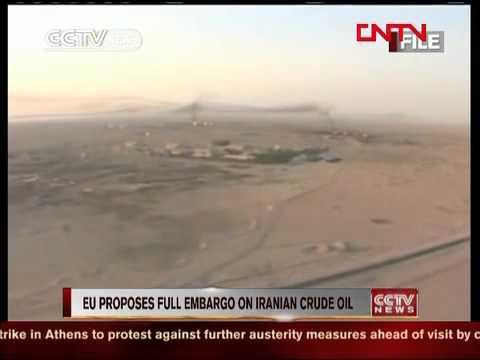 EU proposes full embargo on Iranian crude oil