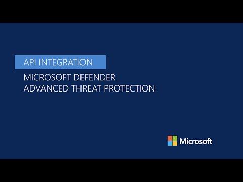 API integration in Microsoft Defender ATP thumbnail