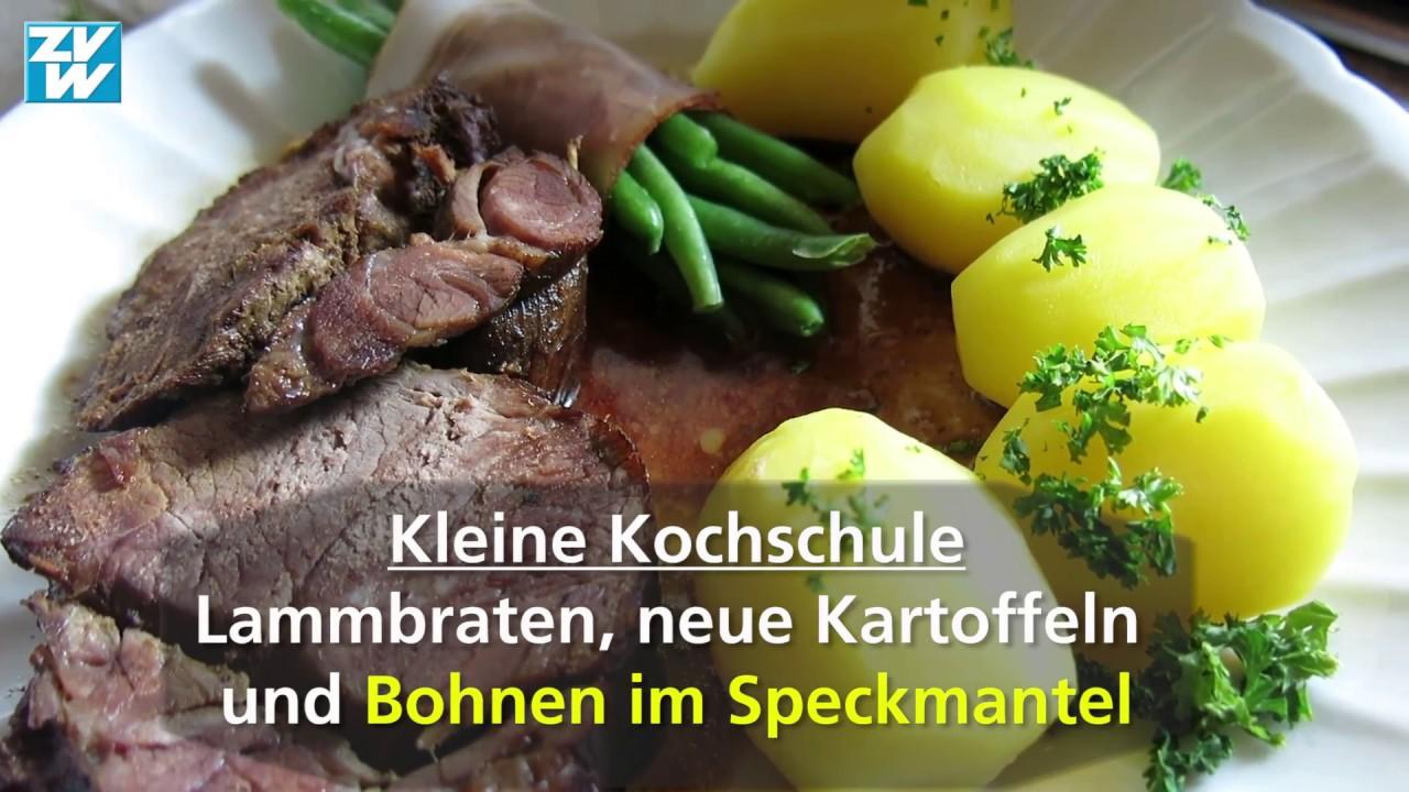 Kleine Kochschule Bohnen Im Speckmantel Youtube