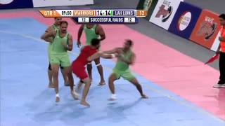 World Kabaddi League, Day 7, Match 13: Khalsa Warriors Vs. Lahore Lions (Part 1)