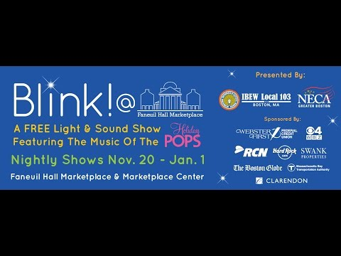 Blink! 2016 at Faneuil Hall Marketplace