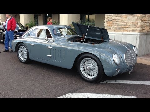 1942 Alfa Romeo 6C Superleggera at Cars and Coffee Scottsdale Arizona