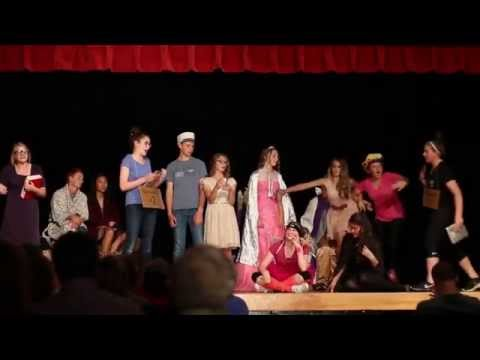 Moscow Middle School - June 2, 2015 - Wooing Wed Widing Hood