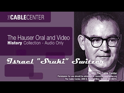 """Israel """"Sruki"""" Switzer Oral and Video History Collection"""