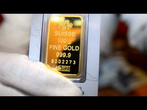 Start Of My Gold Collection 10 oz 100g 1 oz Pamp Suisse Lady Fortuna Gold Bars